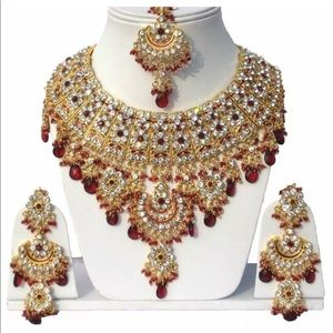 Indian necklace jewelry set